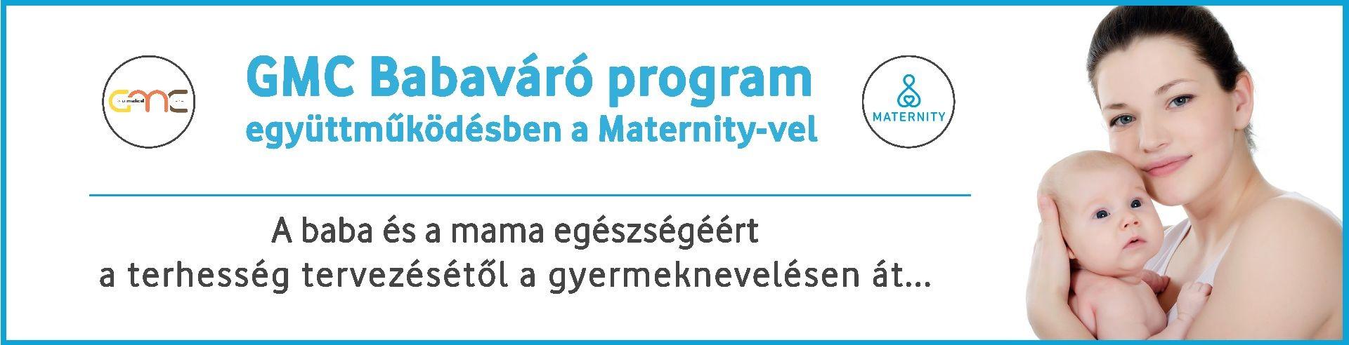 GMC-Maternity-Babaváró-program