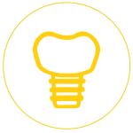 Gáspár Dental implantáció fémmentes implantátum