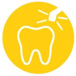 Gáspár Dental betört gyökerek fogak eltávolítása csontátültetés csontműtétek ultrahangos piezo sebészettel
