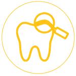 Gáspár Dental fogászat állapotfelmérés diagnosztika ikon