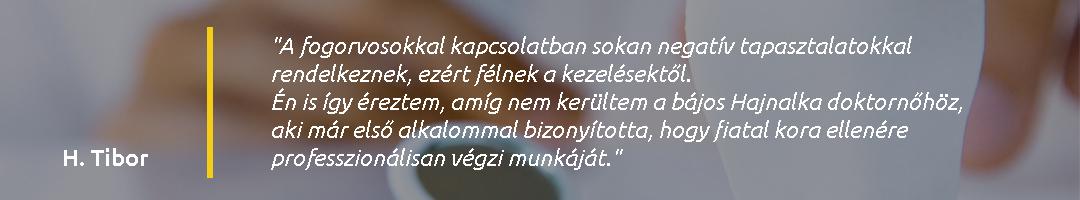 Gáspár Dental Dr. Magas Hajnalka páciens vélemény