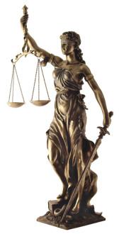 Justitia szobor Gáspár Dental Dr. Gáspár Lajos igazságügyi fogorvosszakértő